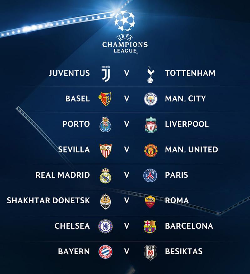 Lịch thi đấu bóng đá hôm nay,Lịch thi đấu bóng đá cup C1