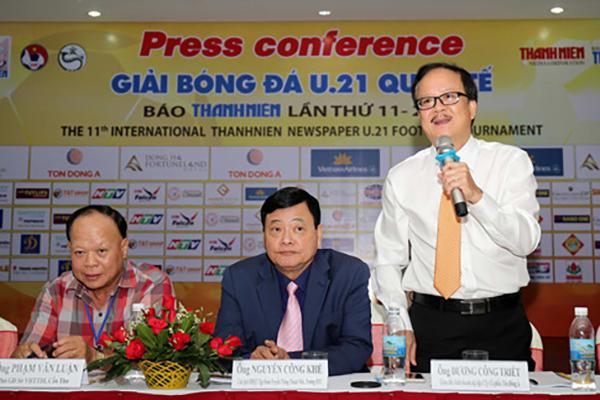 Giải U21 Quốc tế báo Thanh Niên 2017: Nóng ngay trận mở màn