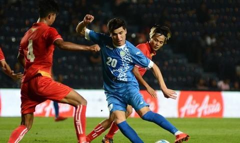 U23 Myanmar 2-2 U23 Uzbekistan