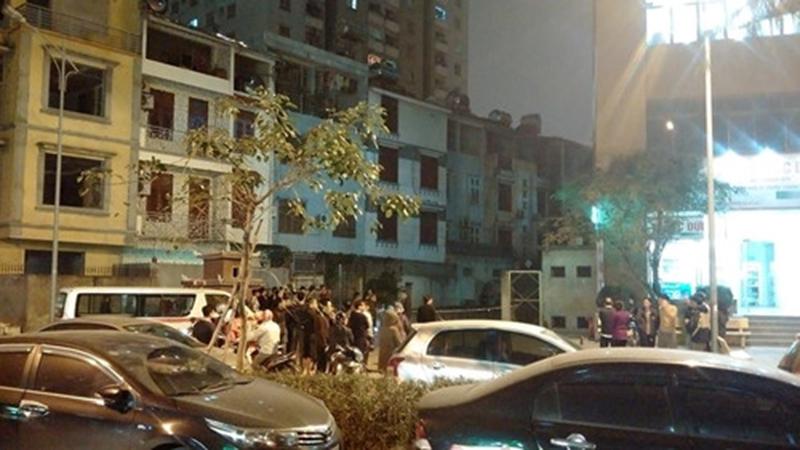 Nam thanh niên rơi từ tầng 29 khu đô thị Xa La tử vong