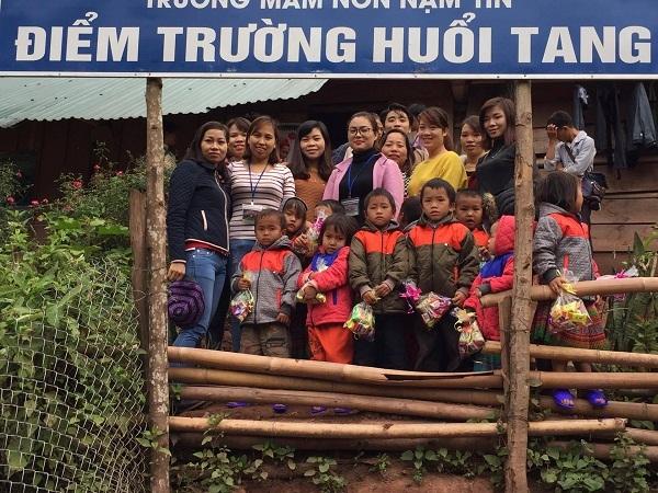 Hội thiện nguyện Nhân Tâm:  Mang hơi ấm về với bà con Điện Biên