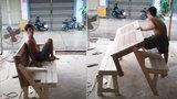 Chiếc bàn gỗ độc nhất vô nhị của người nông dân Tiền Giang