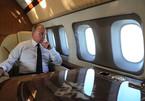 Tổng thống Putin thích thú xem chiến cơ hộ tống chuyên cơ
