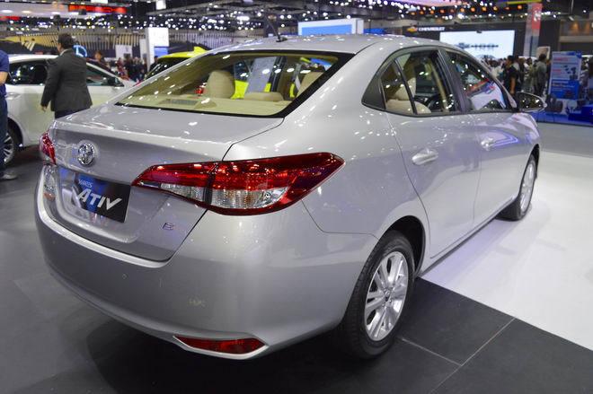 Xe sedan Toyota Yaris Ativ có giá chỉ 329 triệu đồng