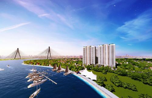 Trả trước 140 triệu, sở hữu căn hộ TP.HCM gần trạm metro