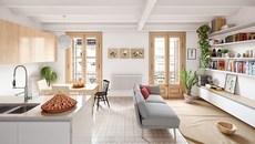 Căn hộ tuyệt đẹp phá cách lấy cảm hứng từ thiết kế Scandinavia0