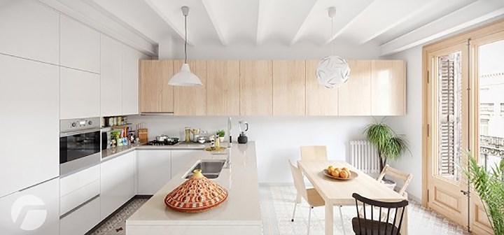 Căn hộ tuyệt đẹp phá cách lấy cảm hứng từ thiết kế Scandinavia