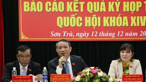 Ông Trương Quang Nghĩa: Dự án BOT rủi ro tài chính rất lớn