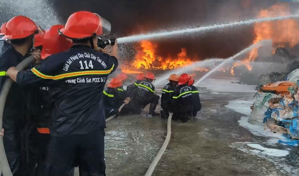 cháy lớn,cháy,Vũng Tàu