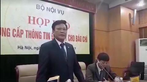 Thứ trưởng Bộ Nội vụ trả lời vụ mất hồ sơ Trịnh Xuân Thanh