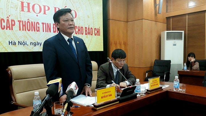 Trịnh Xuân Thanh,Bộ Nội vụ,Thứ trưởng Nguyễn Duy Thăng,Thứ trưởng Nội vụ,Nguyễn Duy Thăng,vụ Trịnh Xuân Thanh