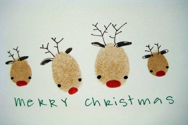 Những mẫu thiệp Giáng sinh đơn giản, đẹp mắt