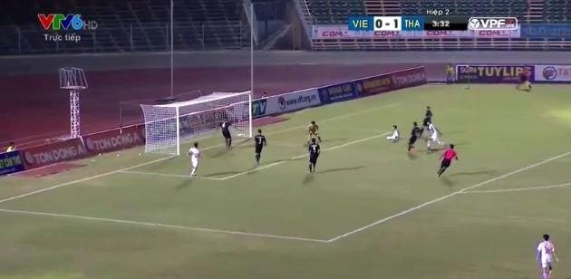 U21 Việt Nam 0-1 U21 Thái Lan: Thanh Tùng bỏ lỡ