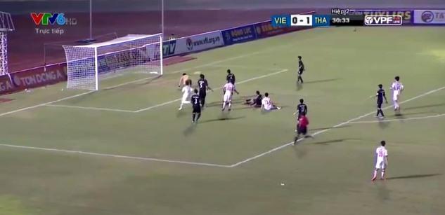 U21 Việt Nam 0-1 U21 Thái Lan phút 76