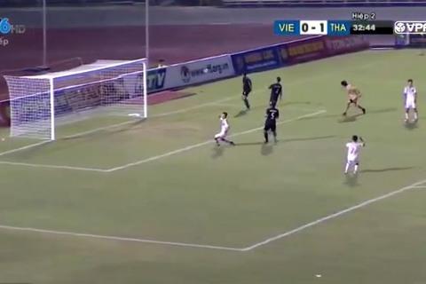 U21 Việt Nam 0-1 U21 Thái Lan phút 78