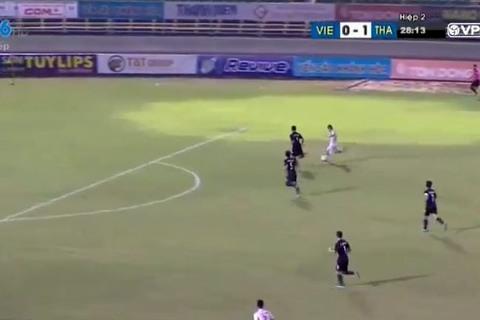 U21 Việt Nam 0-1 U21 Thái Lan