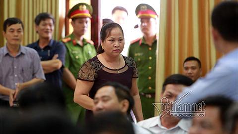Bãi nhiệm Chủ tịch HĐND xã Đồng Tâm với bà Nguyễn Thị Lan