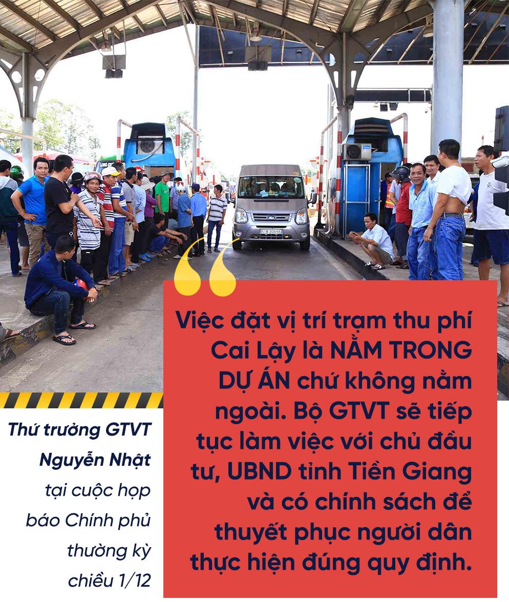 BOT Cai Lậy,BOT An Ninh,BOT Bến Thủy,BOT Hải Dương,Trạm thu phí Cai Lậy,BOT Biên Hòa