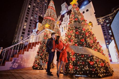 Vincom lộng lẫy đón Giáng sinh