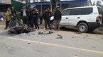 Xe biển xanh đâm nát xe máy, 3 thanh niên chết thảm