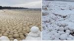 Thế giới 24h: Những khối tròn bí ẩn sát bờ biển Nga