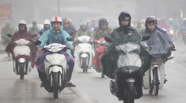 Dự báo thời tiết 14/12: Nhiệt độ Hà Nội giảm liên tiếp, mưa rét