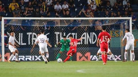 U23 Thái Lan 0-1 U23 Triều Tiên