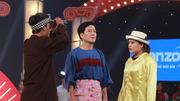 Trấn Thành, Trường Giang cười ngất trước cặp thí sinh đi thi quên thoại
