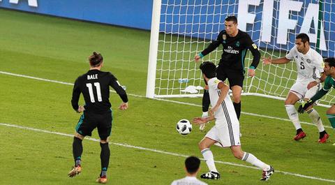 Video bàn thắng Real Madrid 2-1 Al Jazira
