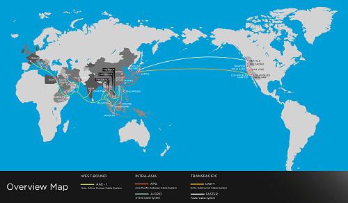 Việt Nam có tuyến cáp đường trục xuyên Đông Nam Á
