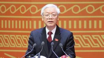 Chính phủ mời Tổng bí thư dự hội nghị trực tuyến