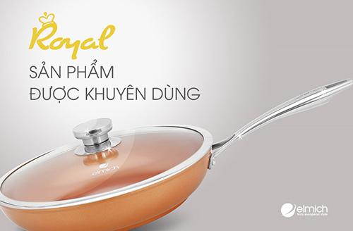 Nồi chảo chống dính Royal Elmich – lựa chọn của bếp Việt 2017