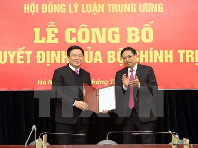 Ông Nguyễn Xuân Thắng được phân công phụ trách Hội đồng Lý luận TƯ