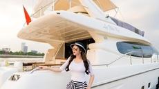 Lý Nhã Kỳ chứng minh độ giàu có với du thuyền 100 tỷ