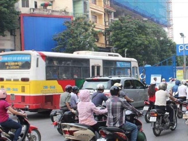 Các mức phạt khi ô tô, mô tô đi vào đường cấm