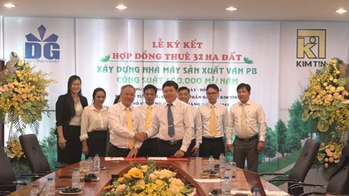 Kim Tín đầu tư xây nhà máy ván FB ở Đồng Nai