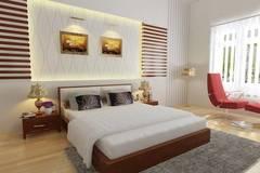 Phòng ngủ mùa Đông ấm nồng cho đôi vợ chồng mới cưới