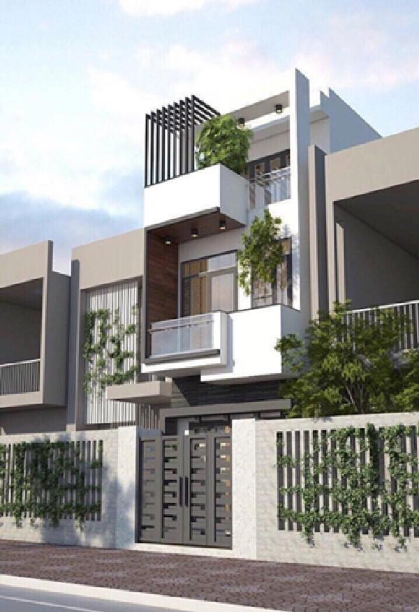 10 mẫu nhà 3 tầng 800 triệu đồng đẹp ngang biệt thự