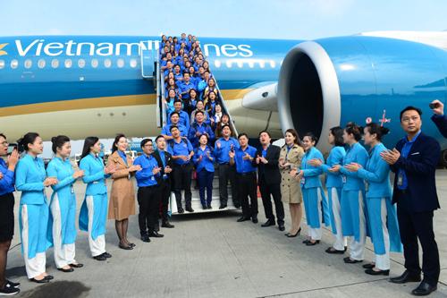 Chuyến bay đặc biệt chào mừng Đại hội Đoàn toàn quốc