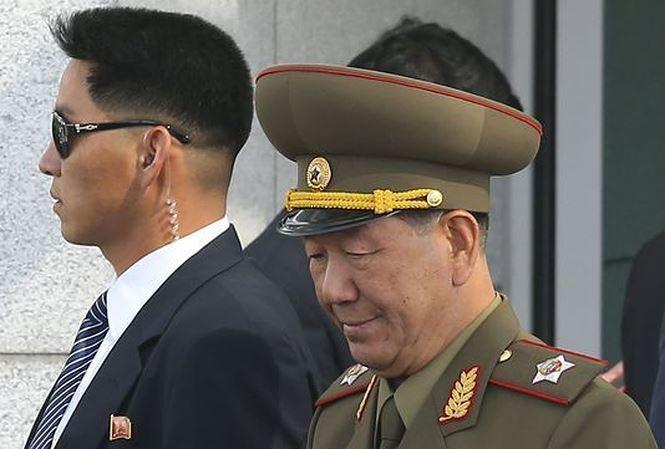 Triều Tiên,Kim Jong Un,Hwang Pyong-so