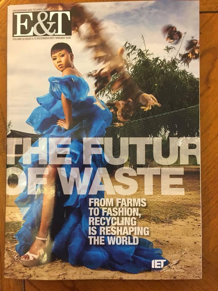 Quần áo từ lá cây và rác thải của người chuyển giới Thái Lan 'gây sốt'