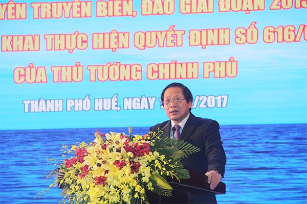 Chủ động phản bác thông tin sai trái về chủ quyền biển, đảo của VN