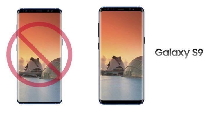 Galaxy S9 thiết kế giống Galaxy S8, không mỏng như người ta vẫn tưởng