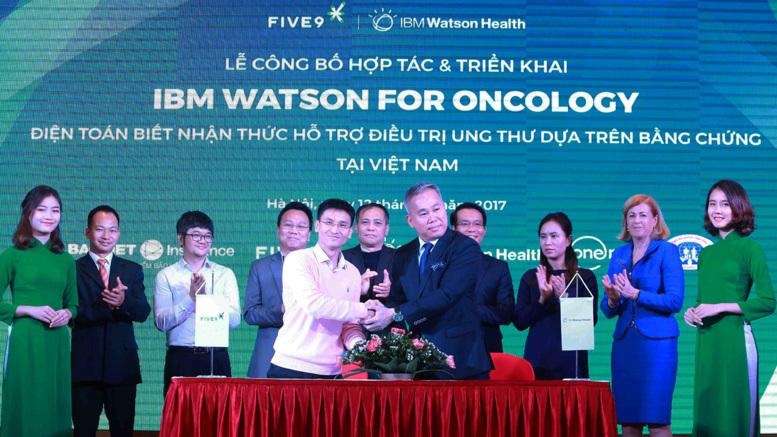 Five9 hợp tác IBM triển khai công nghệ điều trị ung thư dựa trên bằng chứng tại VN
