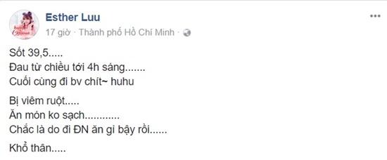 Hari Won phải nhập viện lúc 4 giờ sáng