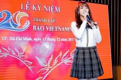 Ali Hoàng Dương, Jang Mi hát mừng sinh nhật VietNamNet tuổi 20