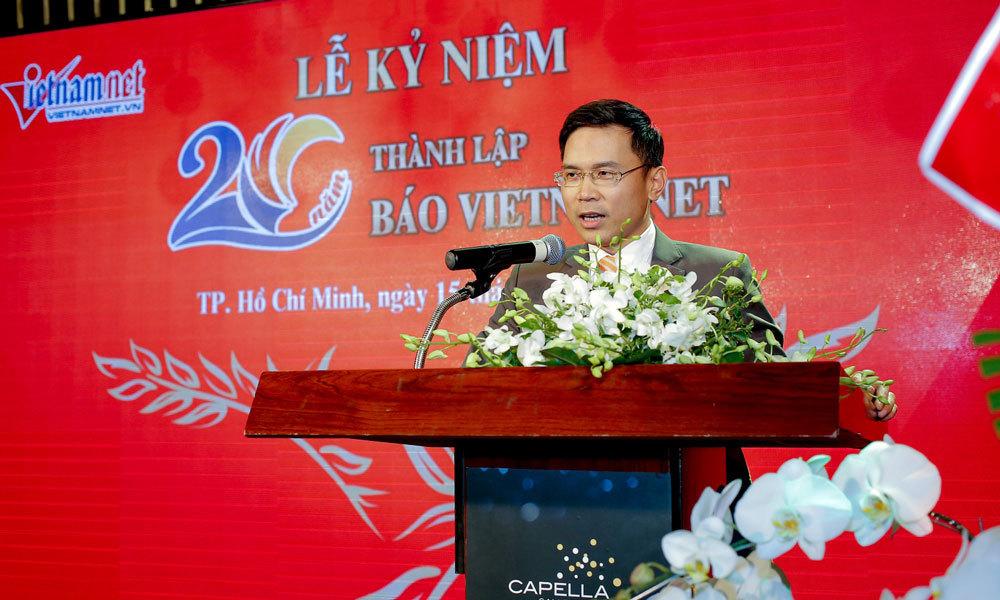 Báo VietNamNet kỷ niệm 20 năm thành lập