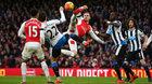 Arsenal 0-0 Newcastle: Song sát Sanchez - Lacazette (H1)