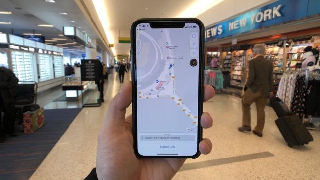 Bản đồ Apple chỉ đường cả trong tòa nhà