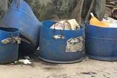 Đi gom rác phát hiện đầu người trong túi nilon